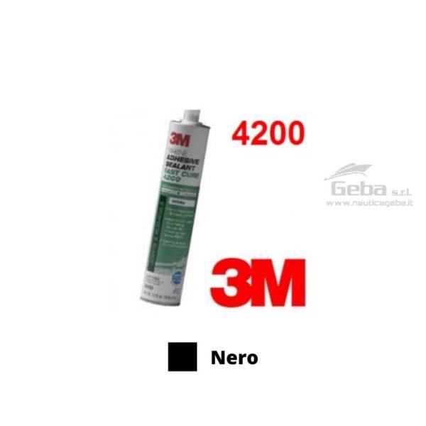 sigillante 3M 4200FC adesivo esterni barca uso nautica poliuretanico nero