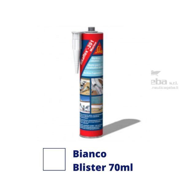 sigillante Sikaflex 291i adesivo interno barca uso nautica poliuretanico colore bianco blister 70ml