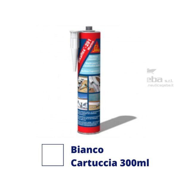 sigillante Sikaflex 291i adesivo interno barca uso nautica poliuretanico colore bianco cartuccia 300ml