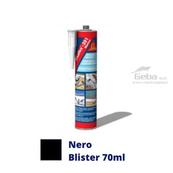 sigillante Sikaflex 291i adesivo interno barca uso nautica poliuretanico colore nero blister 70ml