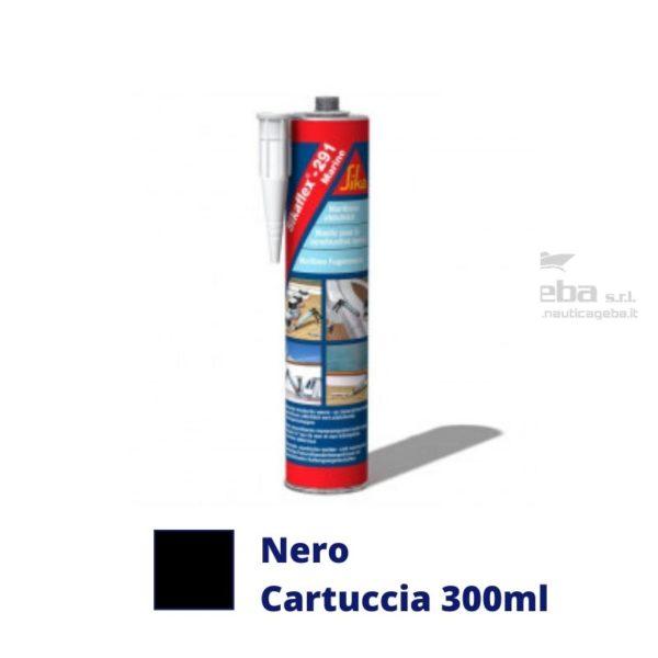 sigillante-Sikaflex-291i-adesivo-interno-barca-uso-nautica-poliuretanico-colore-nero-cartuccia-300ml