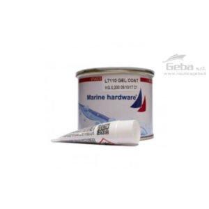 stucco gelcoat filler bicomponente bianco con catalizzatore riparazione scafo vetroresina barca nautica