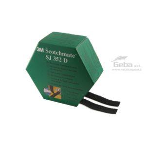 Nastro velcro 3M 352 d SCOTHCMATE MINI PACK adesivo nero da per barca, nautica per fissaggio oggetti acquisto online