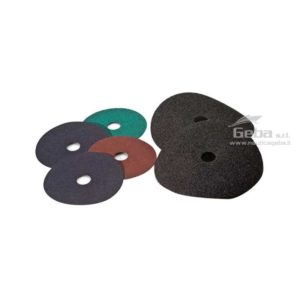 dischi abrasivi fibrati MET in ossido di alluminio per lavorazione sbavatura e trattamento antiruggine metalli barca nautica. Acquisto online varie grane