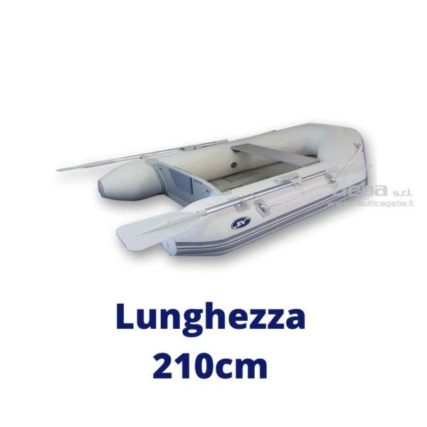 tender barca avvolgibile eurovinil nautico, da pesca, trasporto persone. Disponibile acquisto online. Lunghezza 210cm