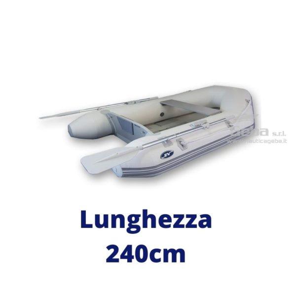 tender barca avvolgibile eurovinil nautico, da pesca, trasporto persone. Disponibile acquisto online. Lunghezza 240cm