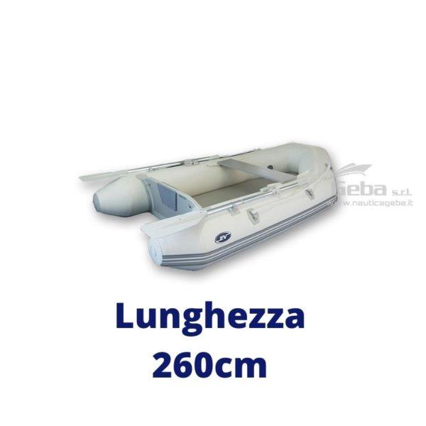 tender gommone barca avvolgibile gonfiabile eurovinil nautico, da pesca, trasporto persone. Disponibile acquisto online. Lunghezza 260cm