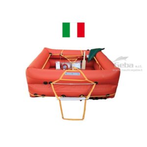 zattera salvataggio entro 12 miglia compact dry eurovinil gonfiabile barca nautica gommone vela omologata italia mare