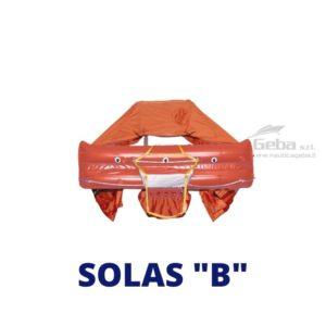 zattera salvataggio entro 60 miglia Syntesy 9650 Solas B eurovinil gonfiabile barca nautica gommone vela omologata italia mare ISO 1