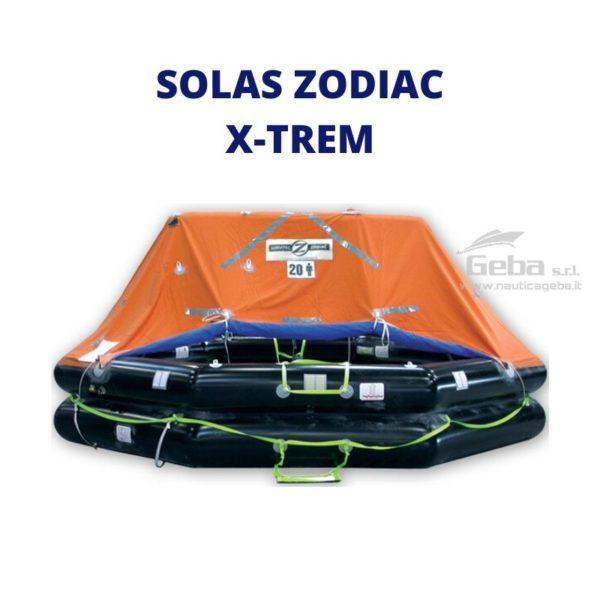 zattera salvataggio yacht e mega yacht modello Zodiac XtremLPC Eurovinil. Gonfiabile da barca, nautica, gommone omologata tutte bandiere