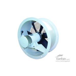 Ventilatori assiali VE • VEX per imbarcazioni nautiche