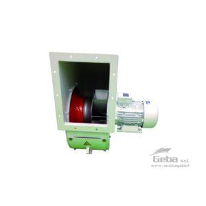 Ventilatori centrifughi BLR per imbarcazioni nautiche