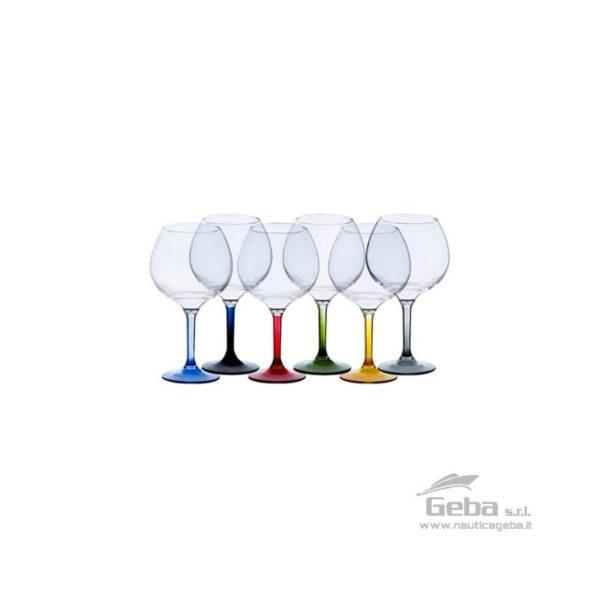 Coppa ballon bicchieri per party da barca base colorata