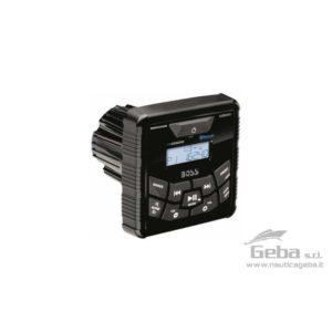 Radio lettore quadrato da cruscotto compatto ma potente BOSS MGR450B con display LCD.