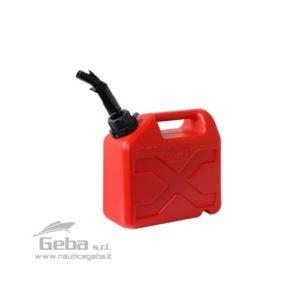 Tanica di benzina per carburante barca 5 lt
